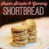 P3 Super Easy Shortbread Cookies (Low Carb, Sugar Free)