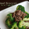 Beef Broccoli (HCG P2, Low Cal, Sugar Free)