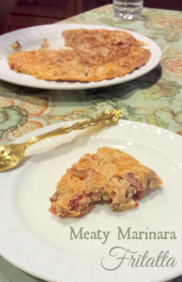 Meaty Marinara Fritatta Recipe Everyday HCG
