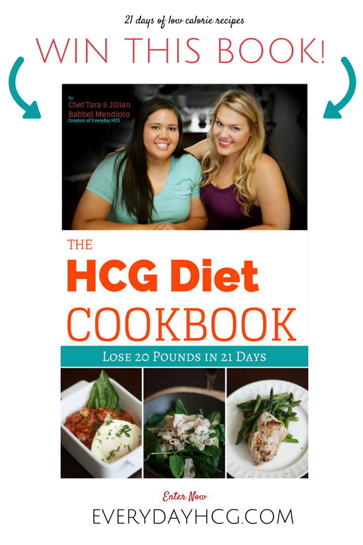 win a copy of the hcg diet cookbook