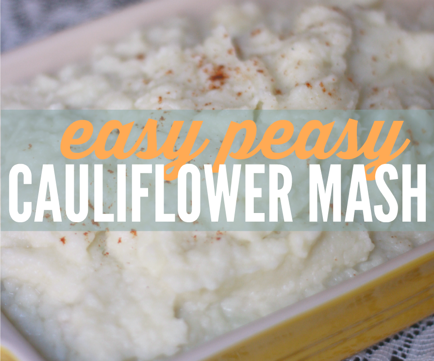 Easy Peasy Cauliflower Mash feature